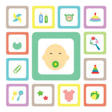 Icon for baby Royalty Free Stock Images