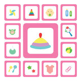 Icon for baby Stock Photos