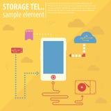 Icon Background Stock Image