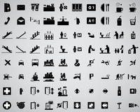80 icon basic Stock Image