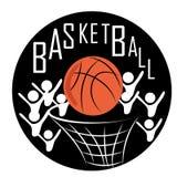 Icon of basketball Royalty Free Stock Photo