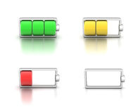 Icon battery Royalty Free Stock Photo