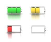 Icon battery Royalty Free Stock Photo