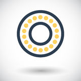 Icon bearing. Royalty Free Stock Photography