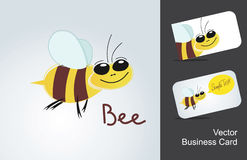 Icon bee Stock Image
