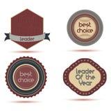 Icon best badge vector leader award winner design shield success prize emblem vector illustration