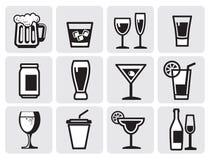 Icon beverage Royalty Free Stock Photos