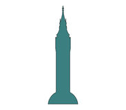 Icon Big Ben illustrated Royalty Free Stock Photos