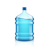 Icon big bottle with clean water. Plastic container for the cool Stock Photography