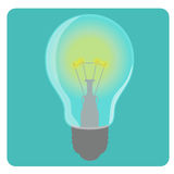 Icon bulbs Stock Photography