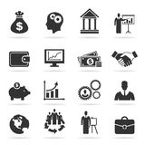 Icon business9 Royalty Free Stock Photography
