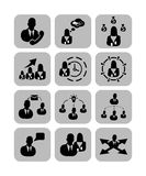Icon business. For the web site Stock Photo