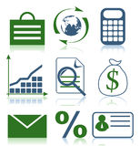 Icon business3 Stock Photography