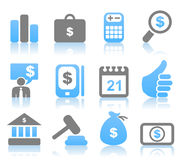 Icon business6 Royalty Free Stock Image