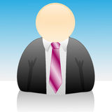 Icon-Businessman Stock Images