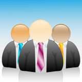 Icon-Businessman Stock Photography