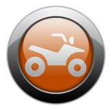 Icon, Button, Pictogram ATV vector illustration