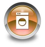 Icon, Button, Pictogram Laundromat. Icon, Button, Pictogram with Laundromat symbol royalty free illustration
