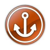 Icon, Button, Pictogram Marina. Icon, Button, Pictogram with Marina symbol Royalty Free Stock Photos