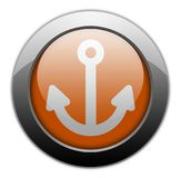 Icon, Button, Pictogram Marina. Icon, Button, Pictogram with Marina symbol Stock Photography