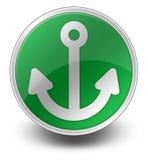 Icon, Button, Pictogram Marina. Icon, Button, Pictogram with Marina symbol Royalty Free Stock Image