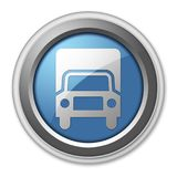Icon, Button, Pictogram Trucks. Icon, Button, Pictogram with Trucks symbol Stock Photos