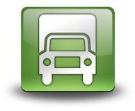 Icon, Button, Pictogram Trucks. Icon, Button, Pictogram with Trucks symbol Stock Photo