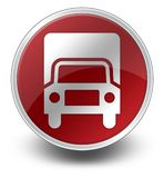 Icon, Button, Pictogram Trucks. Icon, Button, Pictogram with Trucks symbol Royalty Free Stock Photos