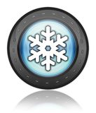 Icon, Button, Pictogram Winter Recreation. Icon, Button, Pictogram with Winter Recreation symbol Royalty Free Stock Photography