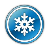 Icon, Button, Pictogram Winter Recreation. Icon, Button, Pictogram with Winter Recreation symbol Stock Photography