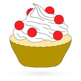 Icon cake. Raster 1 1 Royalty Free Stock Photos
