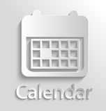 Icon calendar Royalty Free Stock Photography