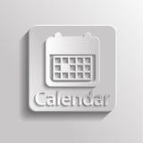 Icon calendar Stock Photo