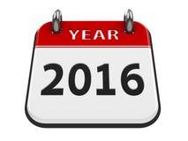 Icon calendar 2016 year Stock Photos