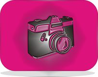 Icon camera Royalty Free Stock Image