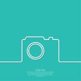 Icon camera Stock Photo