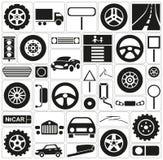 Icon car Stock Photo