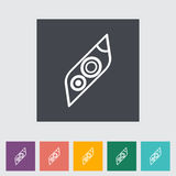 Icon Car Lights. Vector illustration Royalty Free Stock Images