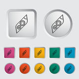 Icon Car Lights. Vector illustration Stock Images
