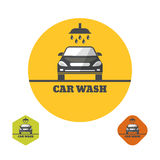 Icon car wash. Vector illustration Royalty Free Stock Photography