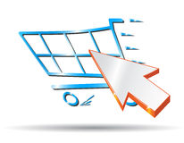 Icon Cart Royalty Free Stock Photo
