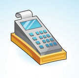Icon cash register Stock Image