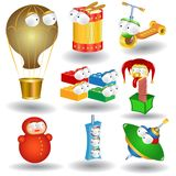 Icon character baby collection Royalty Free Stock Photo