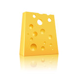 Icon of Cheese Royalty Free Stock Photo