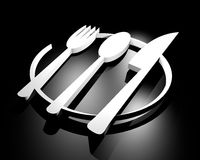 Icon chef Royalty Free Stock Image