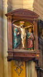 Icon of Christ. In the church in Lviv Royalty Free Stock Images