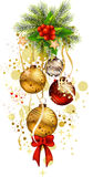 Icon christmas background. Vector illustration of icon christmas background Royalty Free Stock Photo