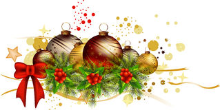 Icon christmas background. Vector illustration of icon christmas background Stock Photo