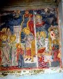Icon in the church St. Nicholas in Schei (town Brasov), Transylvania Royalty Free Stock Image