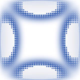Icon circles dynamic texture Royalty Free Stock Photo